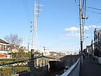 変電所跡と鉄塔