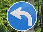 指定方向標識